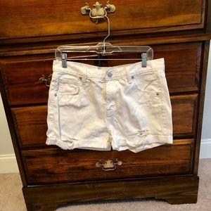Mossimo Supply Co. Boyfriend Midi Shorts Size 8